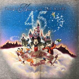 DISNEYLAND Vintage 45 years Celebration Micky XL